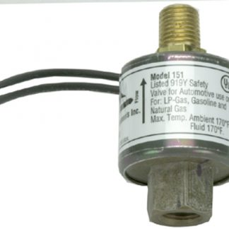12 Volt .100 Orifice Multi Purpose Shut Off Valve