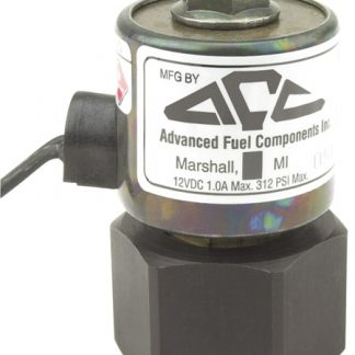 "12 Volt 1/4"" Orifice Multi Purpose Shut Off Valve"