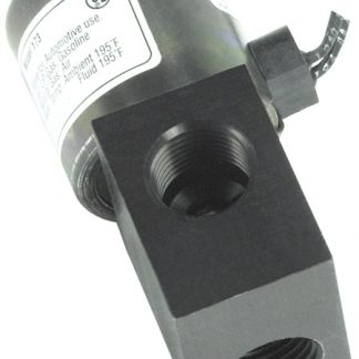 "12 Volt 1/2"" Inlet/Outlet Fuel/Air Shut Off Valve"