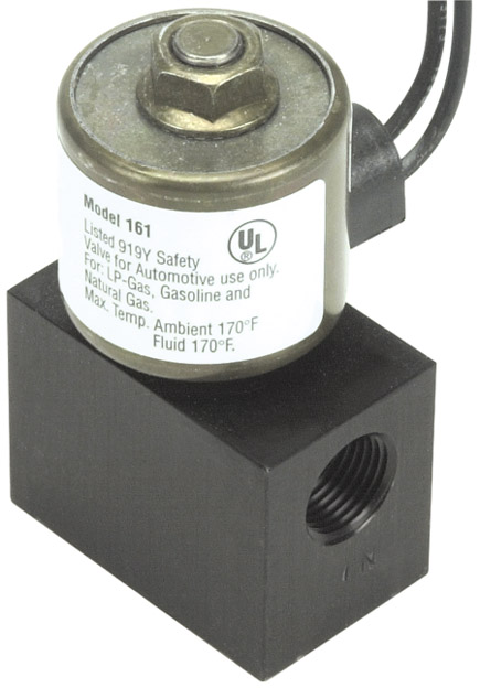 "12 Volt 3/8"" Inlet/Outlet Fuel Shut Off Valve"