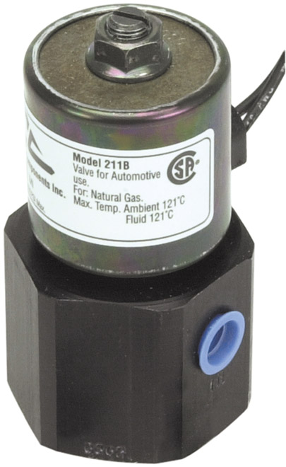 "12 Volt 1/4"" Inlet/Outlet High Pressure Shut Off Valve"
