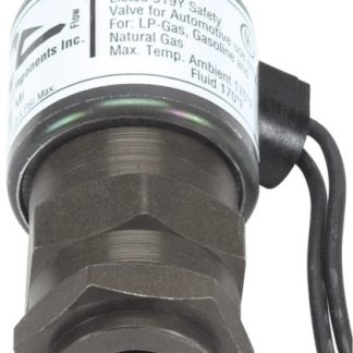 "24 Volt .100"" Orifice Inline Filter Shut-Off Valve"