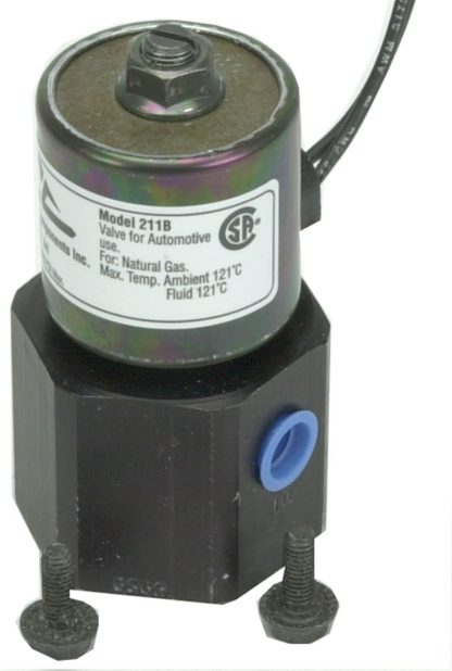 "24 Volt 1/4"" Inlet/Outlet High Pressure Shut Off Valve"